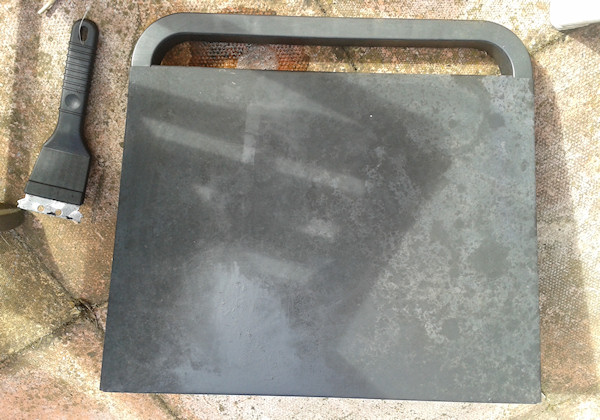 how to clean rusty bbq grates