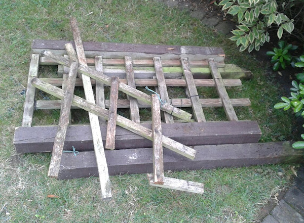 wood for upcycling